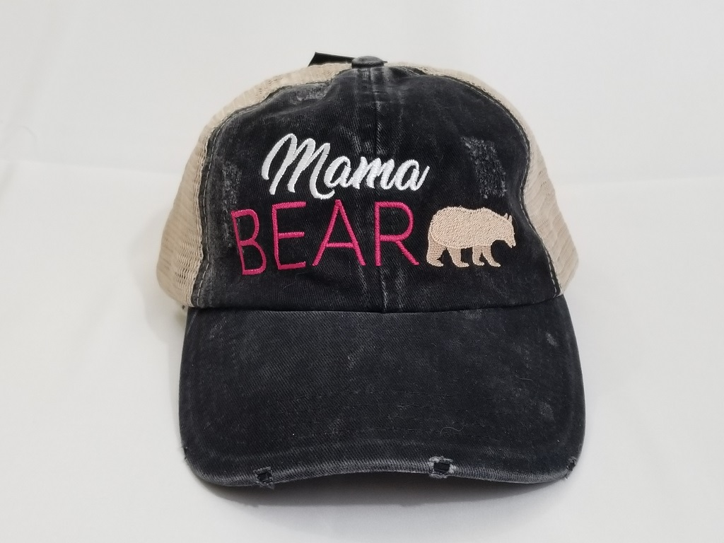 a917978a7c3 Mama Bear washed baseball cap - Ivy and Pearl Online Boutique