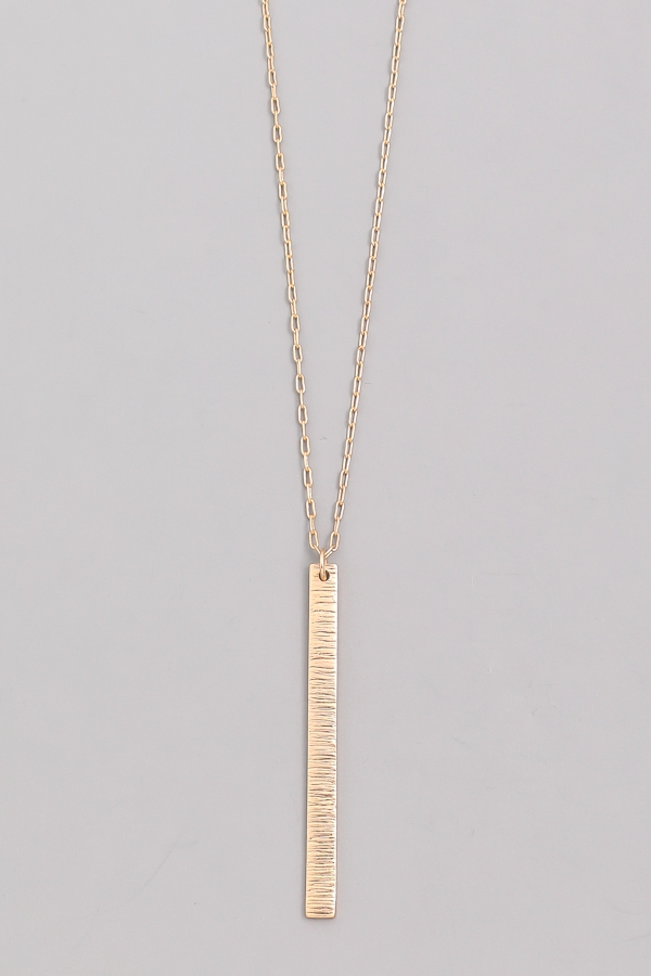 Durable Bar Chain Necklace