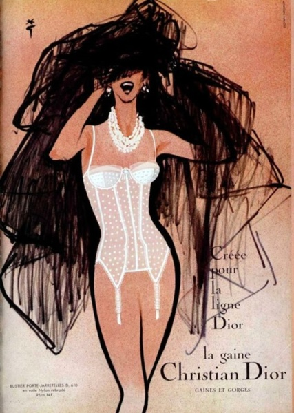Christian Dior ad from the 1960's
