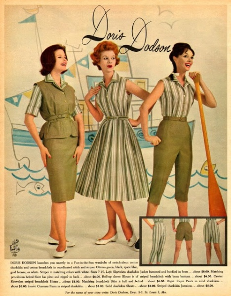 Doris Dodson summer series advertisement