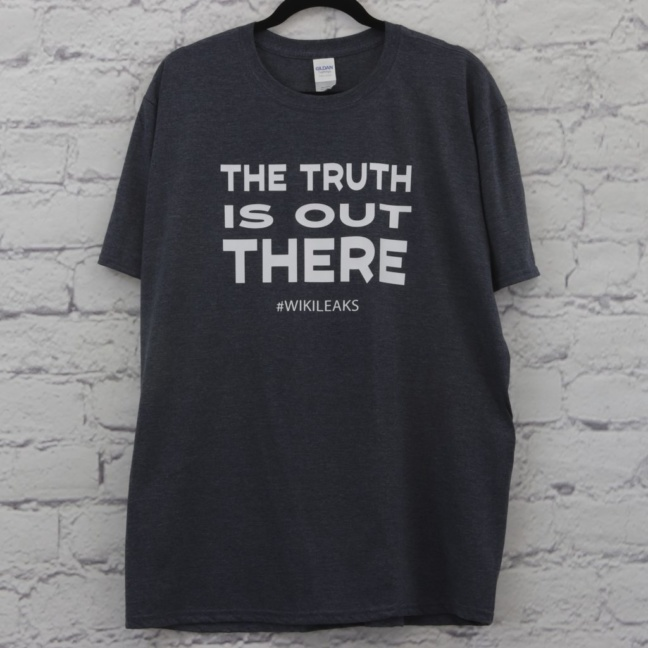 The Truth is Out There Wikileaks T-Shirt