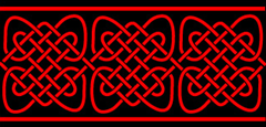 Everlasting knot pattern