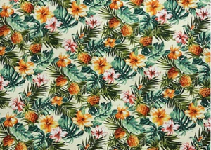 Hawaiian fabric pattern