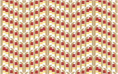 Irregular repeat pattern