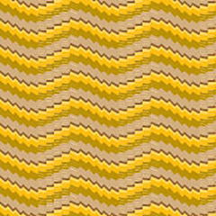Serpentine stripes pattern