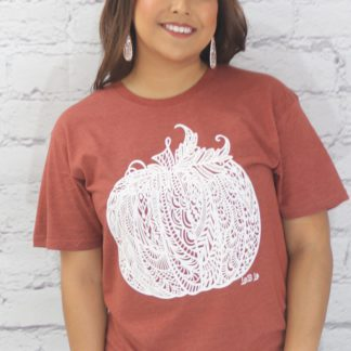 Lace pumpkin T-shirt