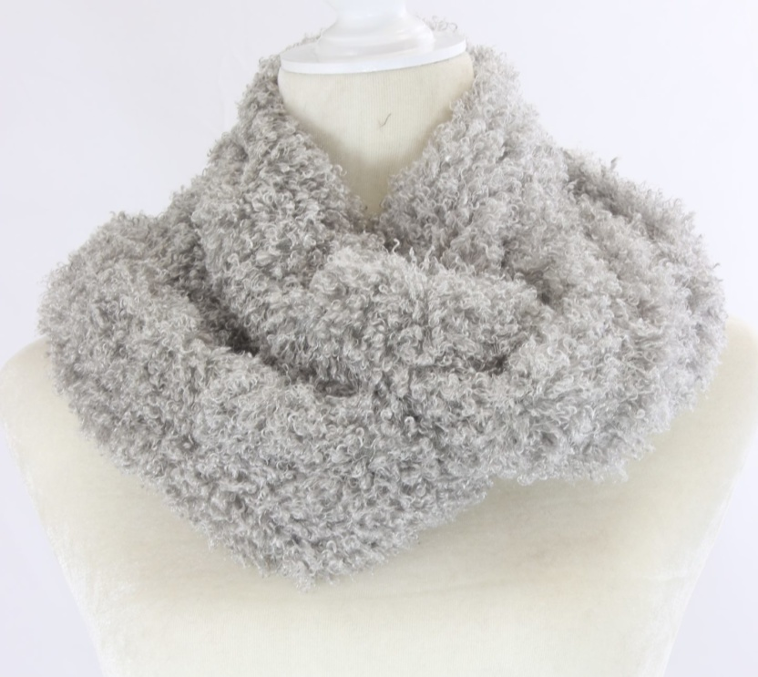 Soft and fluffy infinity scarf
