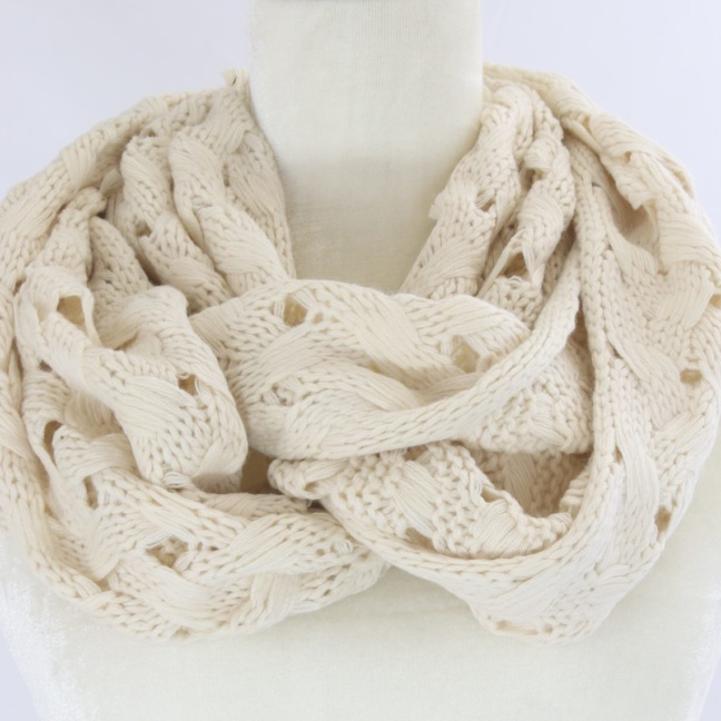 New York crochet infinity scarf