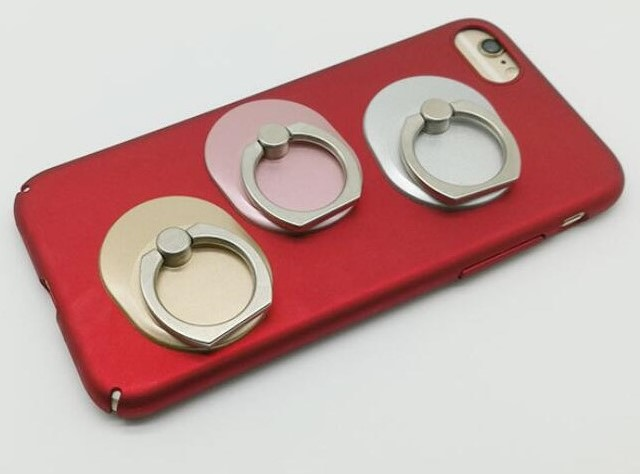 Phone ring holder - gold, rose gold, and silver