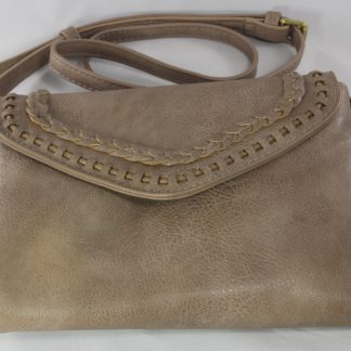 Street handbag with buckle strap
