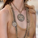 Chanel chain link statement necklace 2019