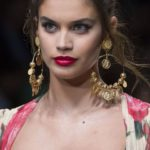 Dolce and Gabbana hoop and pendant earrings 2019