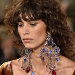 Ralph Lauren statement earrings and necklace 2019