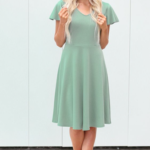 Fern green dress