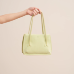 Ivy and Pearl Boutique pistachio green purse