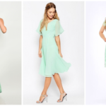 Mint green dresses