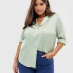 Pistachio green blouse