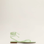 Pistachio green shoes