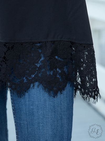 Perfectly paired cami tank top lace detail