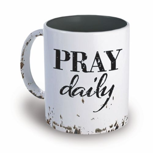 Faith-based cups - Prayer mugs - Pray daily cup