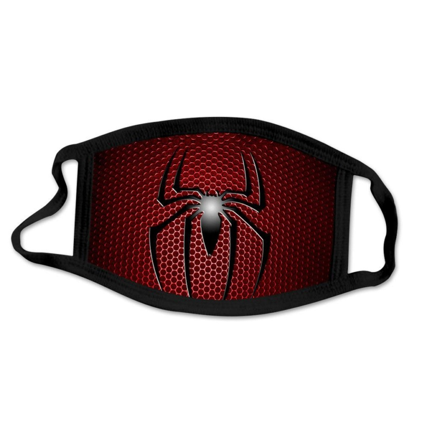 SpiderMan face masks - Black spider