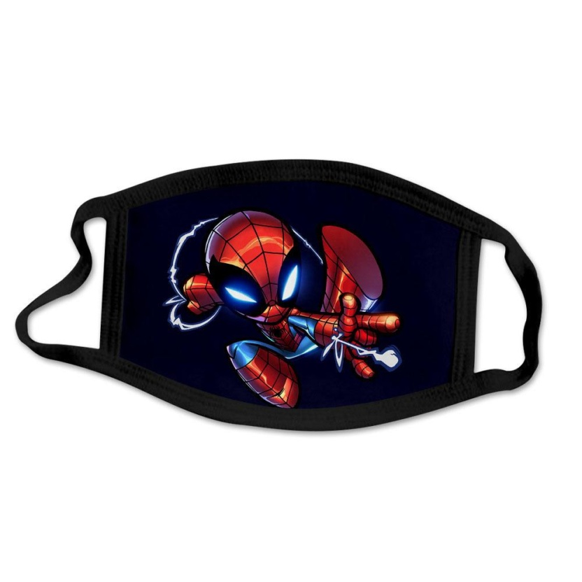 Spider-Man kids face masks - Cartoon Spider-Man