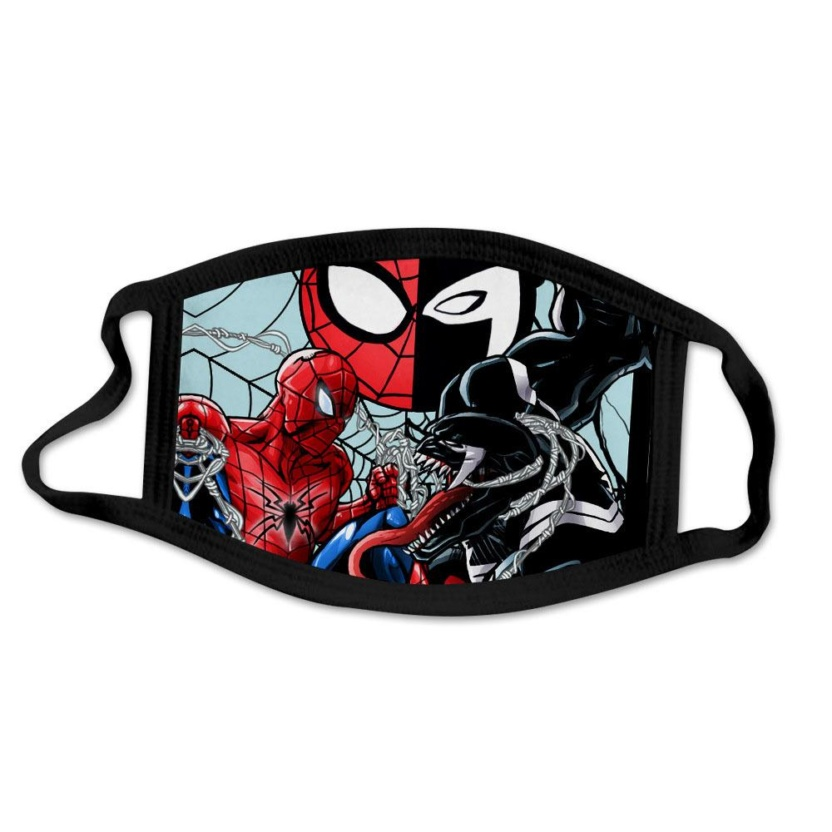 Spider-Man kids face masks - Spider-Man and Venom