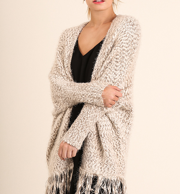 Cuddle Up Cardigan Mocha