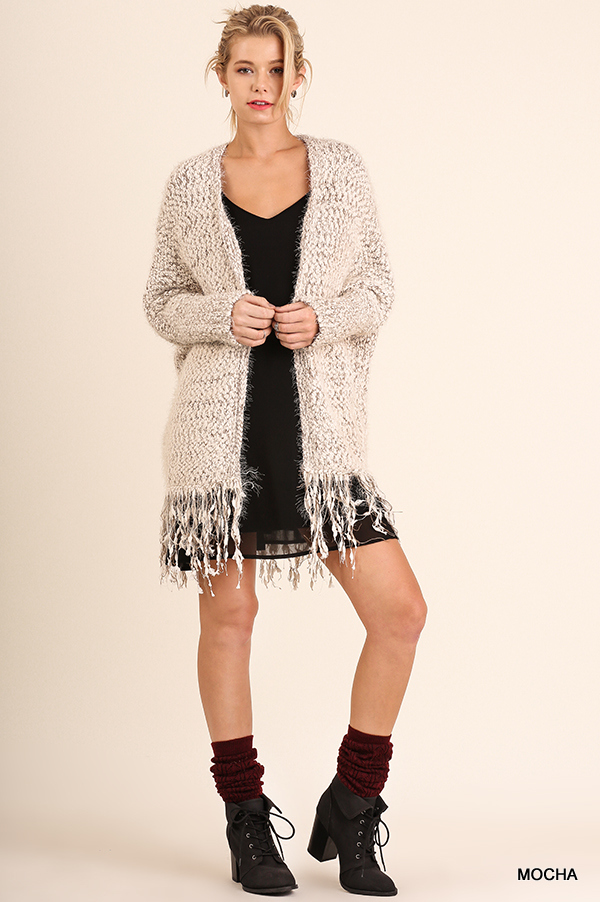 Cuddle Up Cardigan Mocha full