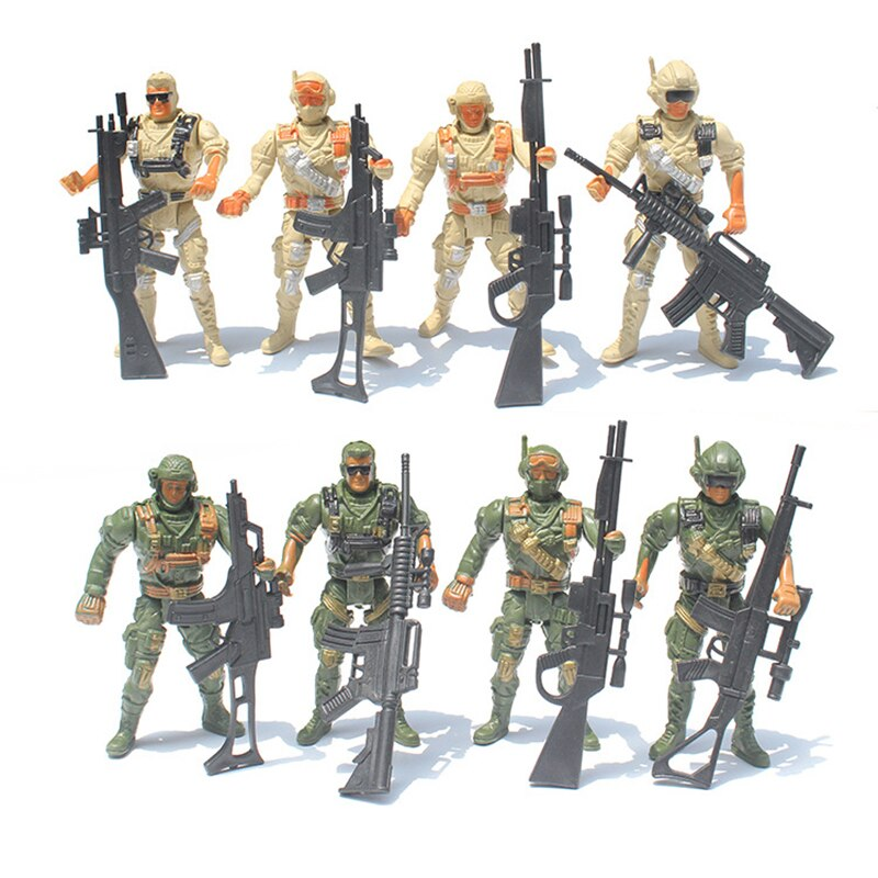 army men military soldiers with guns