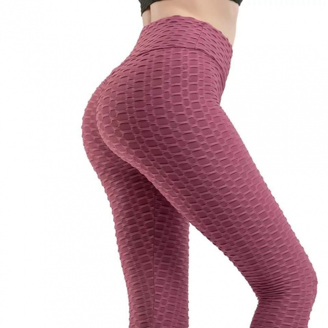 The Tina Leggings plum